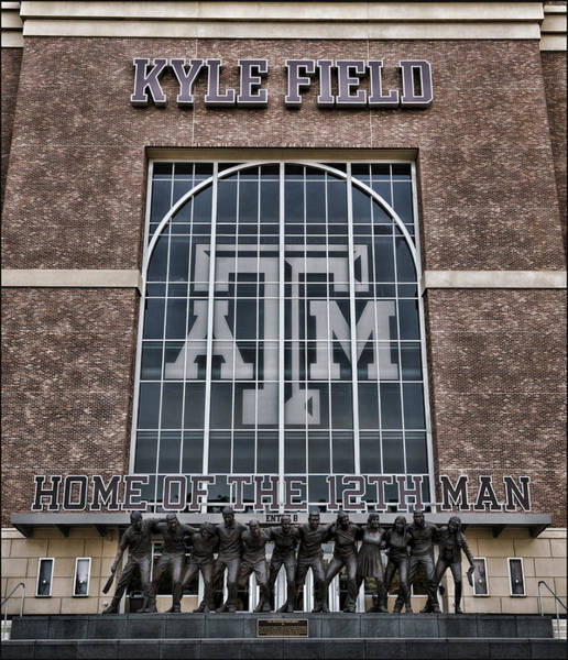 Wall Art - Photograph - Kyle Field - Home Of The 12th Man by Stephen Stookey