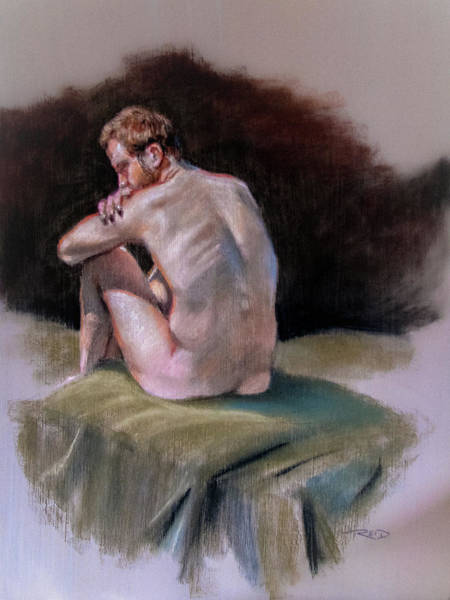 Pastel - Kyle's Back by Christopher Reid