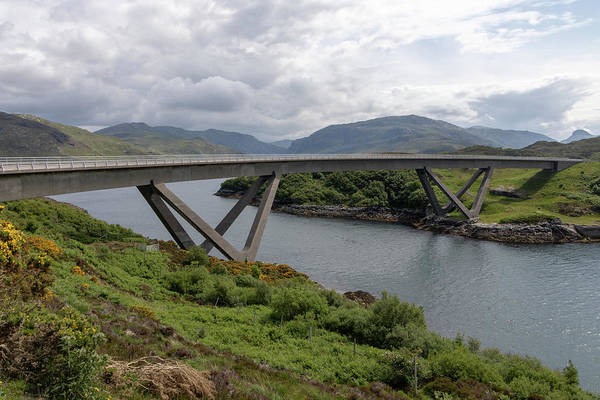 Photograph - Kylesku Bridge 1053 by Teresa Wilson