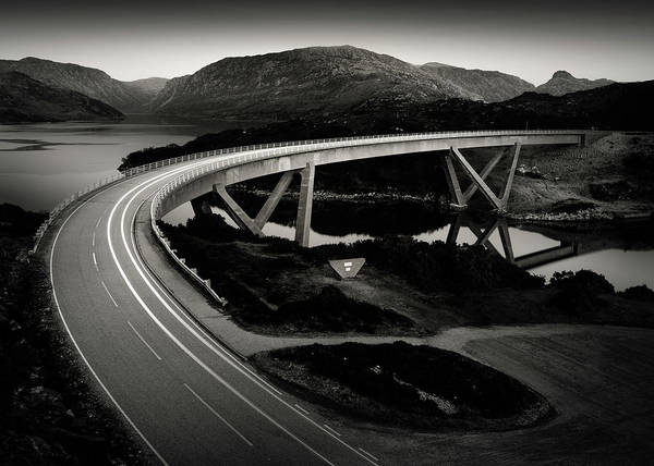 Wall Art - Photograph - Kylesku Bridge by Dave Bowman