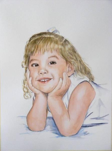 Painting - Kylie Newkirk by Diane Ziemski