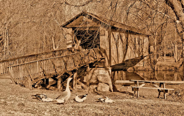 Childersburg Photograph - Kymulga Bridge by Ben Prepelka