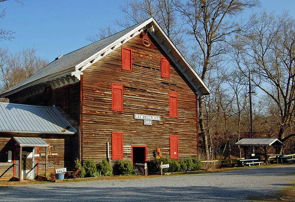Childersburg Photograph - Kymulga Grist Mill by Ben Prepelka
