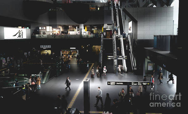 Photograph - Kyoto Train Station, Japan 2 by Perry Rodriguez