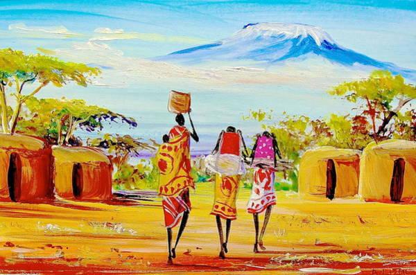 Painting - L 93 by Albert Lizah