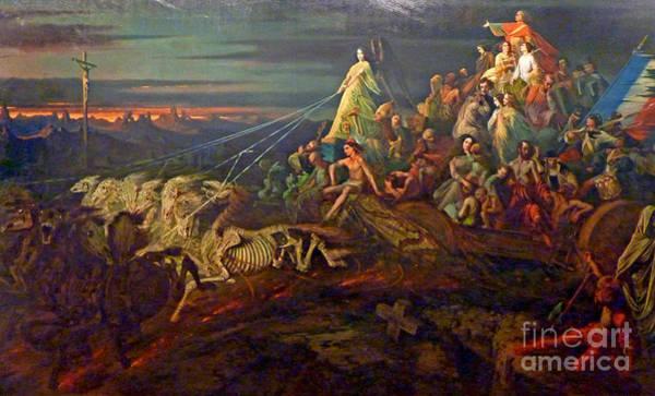 Satanism Digital Art - L Char De La Mort by Frederick Holiday