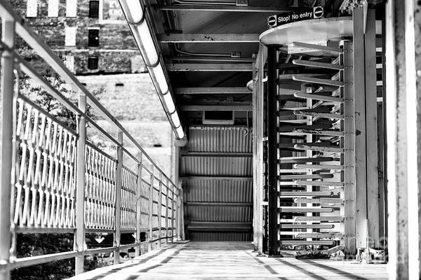 Wall Art - Photograph - L Platform Chicago by John Rizzuto
