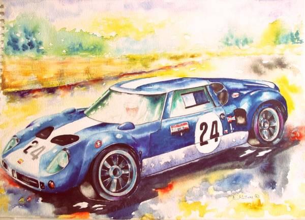 Painting - l963 Lola GT by Anne Dalton