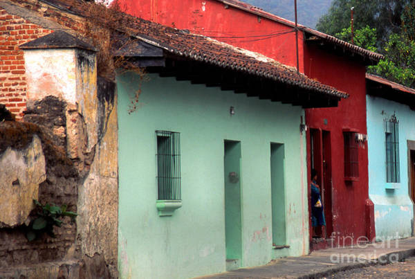 Photograph - La Antigua Guatemala Street by Thomas R Fletcher