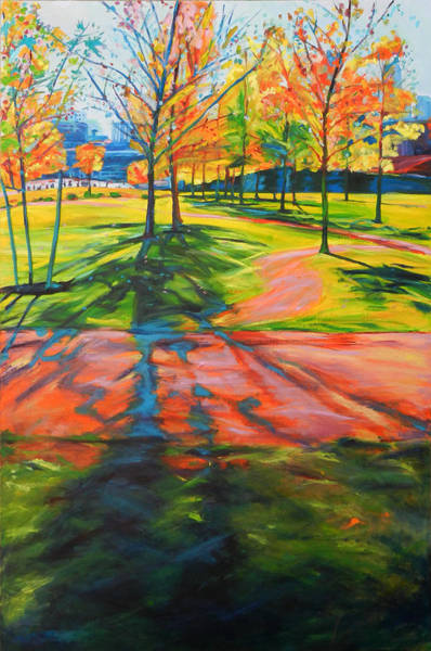 Painting - La Autumn by Bonnie Lambert