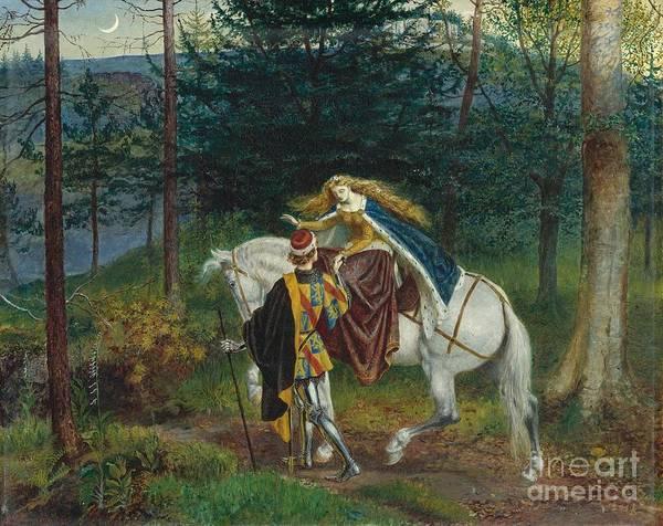 Painting - La Belle Dame Sans Merci by Celestial Images