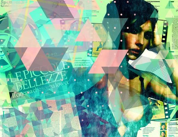Mixed Media - La Bellezza by Michelle Dallocchio