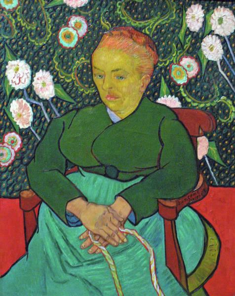 Painting - La Berceuse Anagoria by Vincent van Gogh