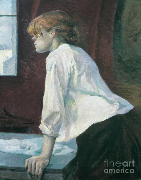 Wall Art - Painting - La Blanchisseuse by Henri de Toulouse-Lautrec