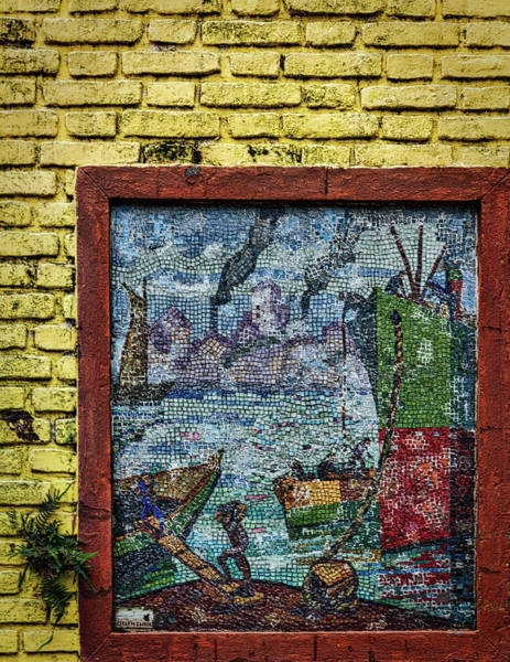 Photograph - La Boca Wall Art #2 - Argentina by Stuart Litoff