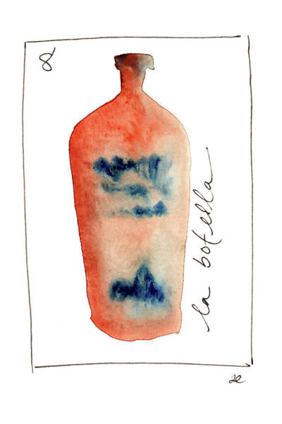 Painting - La Botella by Anna Elkins
