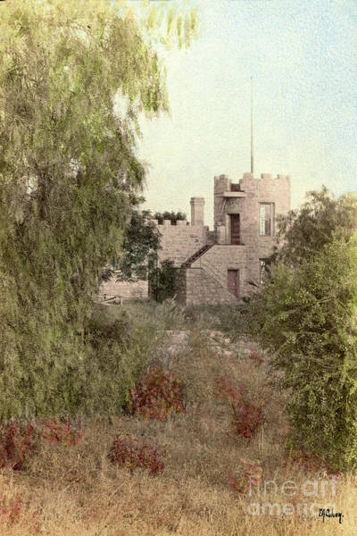 Photograph - La Castle De Crescenta Circa 1908 by California Views Archives Mr Pat Hathaway Archives