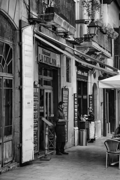 Call Building Photograph - La Catalana Restaurant by Georgia Fowler