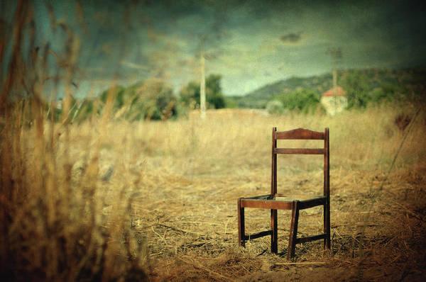 Surrealistic Photograph - La Chaise by Zapista Zapista