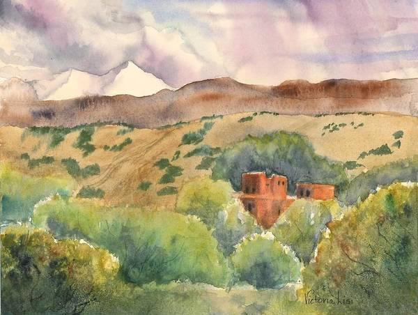 Painting - La Cienega by Victoria Lisi
