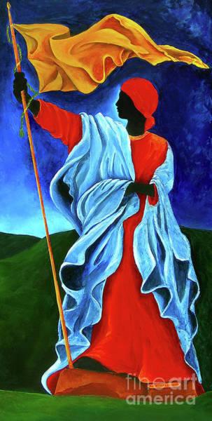 Haiti Painting - La Dessalinienne by Patricia Brintle