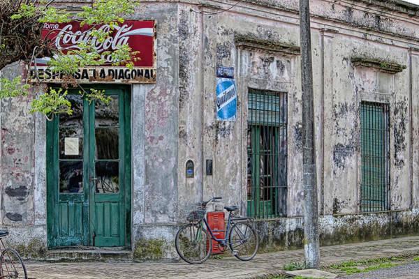 Cabildo Wall Art - Photograph - La Diagonal - Carmen De Areco by Hans Wolfgang Muller Leg