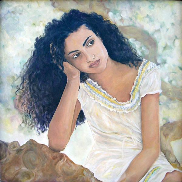 Painting - La Diosa De Hoy by Julie Davis Veach