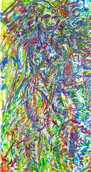 Ranchera Wall Art - Painting - La Dreamer by Jimmy Longoria
