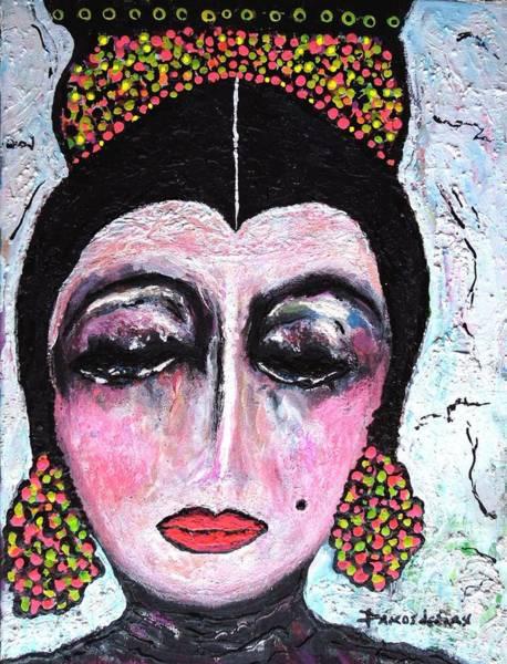 Sax Painting - La Duena by Darlyne Sax
