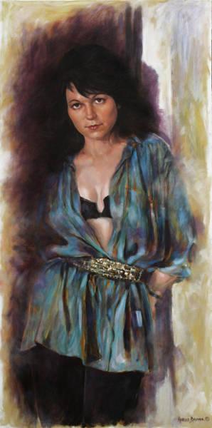 Boudoir Wall Art - Painting - La Femme by Harvie Brown
