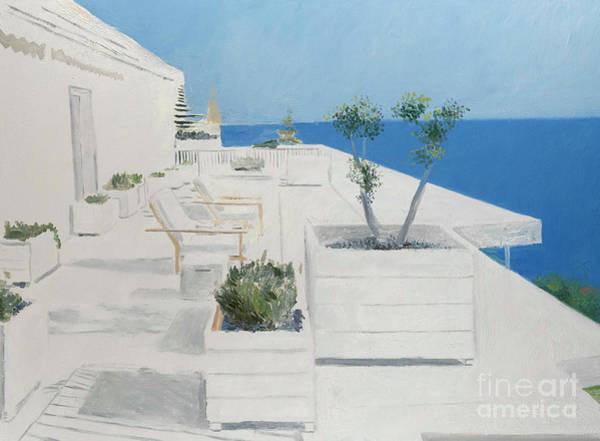 Wall Art - Painting - La Garden by Alessandro Raho