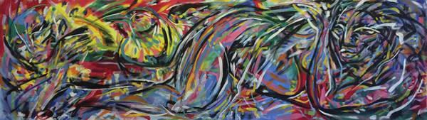 Ranchera Wall Art - Painting - La Immigrante by Jimmy Longoria