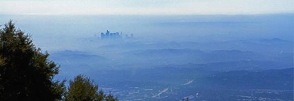 Photograph - La In Smog by Jeff Kurtz