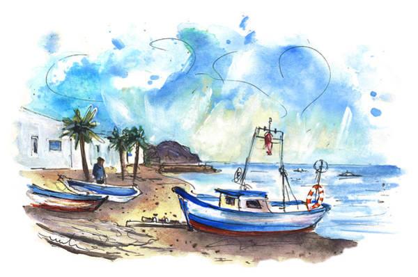 Wall Art - Painting - La Isleta Del Moro 01 by Miki De Goodaboom