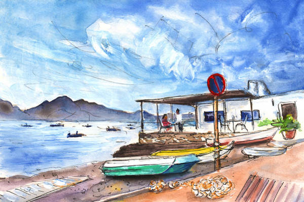 Painting - La Isleta Del Moro 05 by Miki De Goodaboom