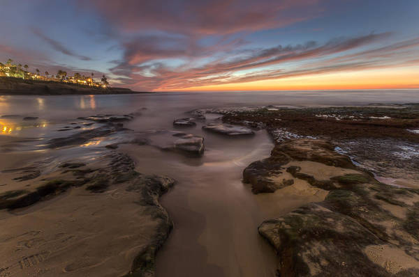 La Jolla After Dark Art Print