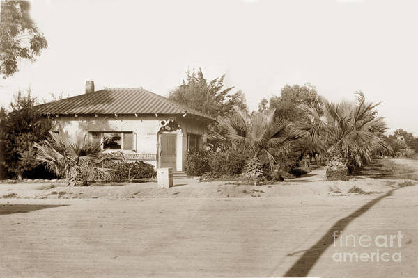 Photograph - La Jolla Branch, San Diego Public Library - Free Reading Room Ci by California Views Archives Mr Pat Hathaway Archives