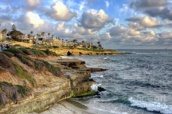 Photograph - La Jolla Coastline by Eddie Yerkish
