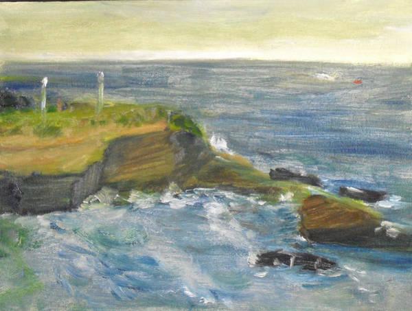 La Jolla Cove 002 Art Print