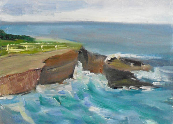 Painting - La Jolla Cove 020 by Jeremy McKay