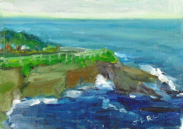 Painting - La Jolla Cove 024 by Jeremy McKay