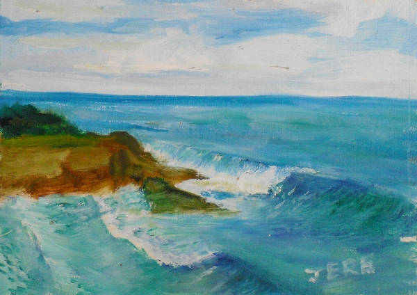 Painting - La Jolla Cove 029 by Jeremy McKay