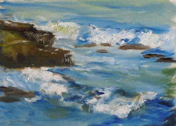 Painting - La Jolla Cove 036 by Jeremy McKay