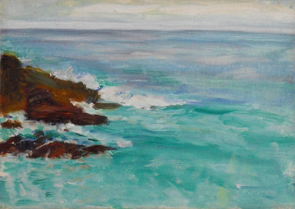 Painting - La Jolla Cove 040 by Jeremy McKay
