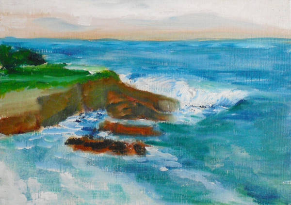 Painting - La Jolla Cove 041 by Jeremy McKay