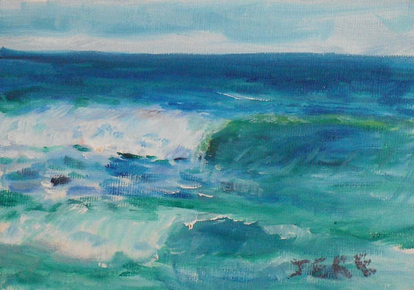 Painting - La Jolla Cove 044 by Jeremy McKay
