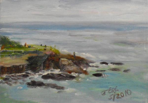 La Jolla Cove 053 Art Print