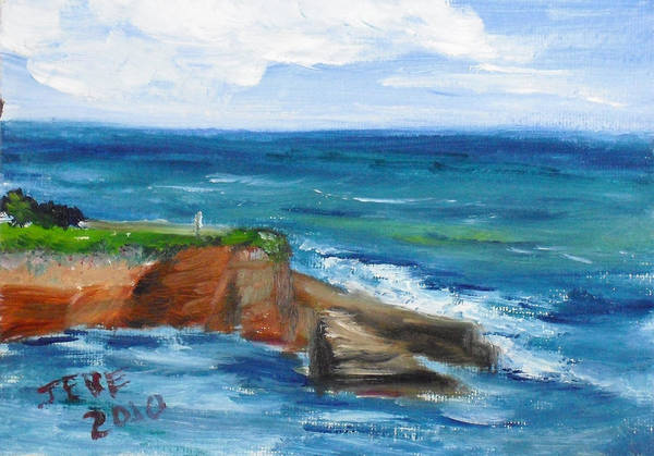 Painting - La Jolla Cove 059 by Jeremy McKay