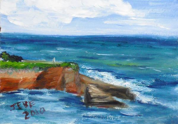 La Jolla Cove 059 Art Print