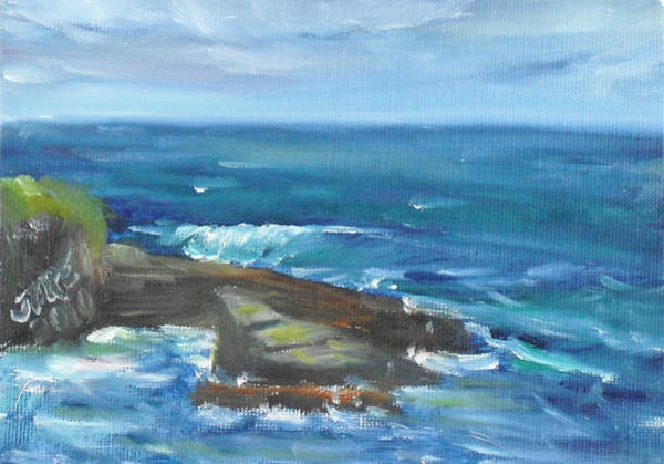 Painting - La Jolla Cove 060 by Jeremy McKay